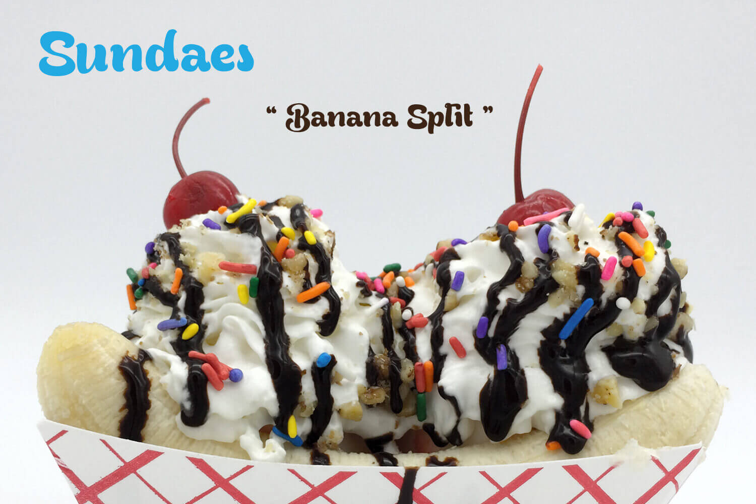Sundae Banana Split - Home